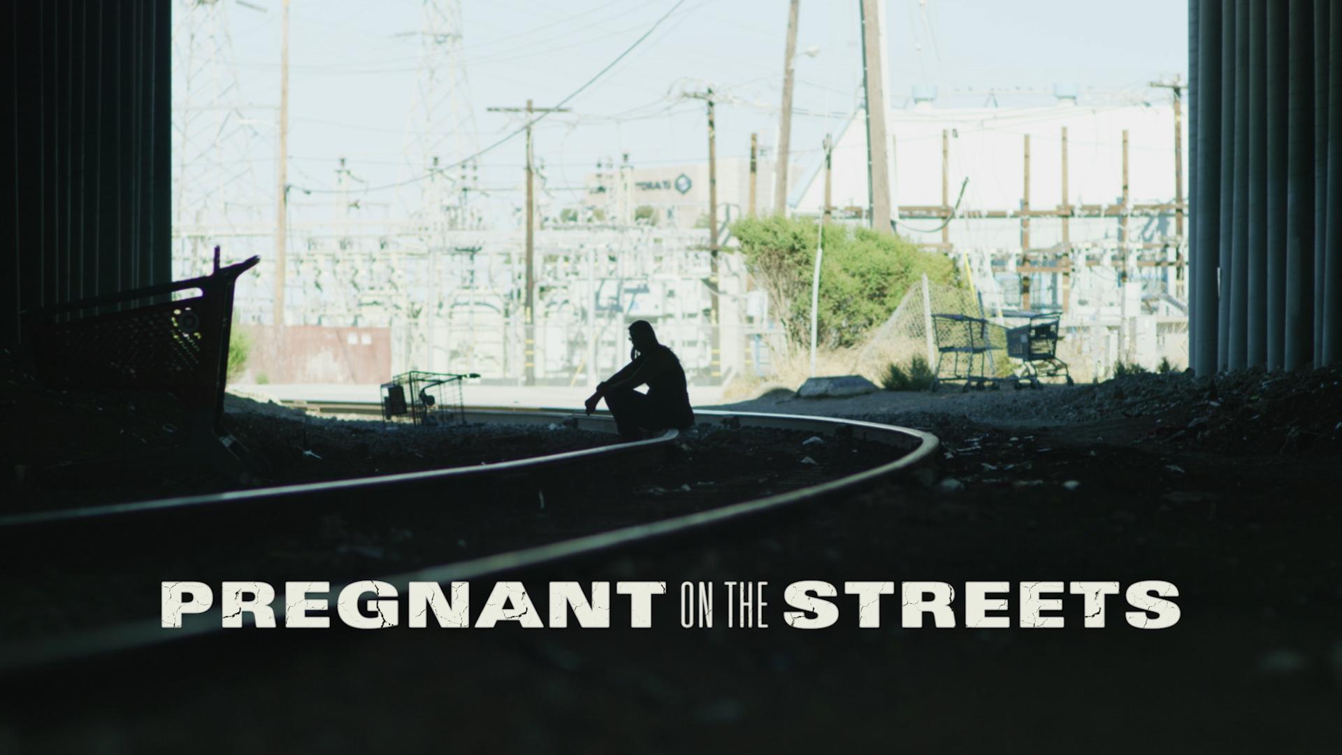 """Cena do documentário """"Pregnant in the Street"""""""