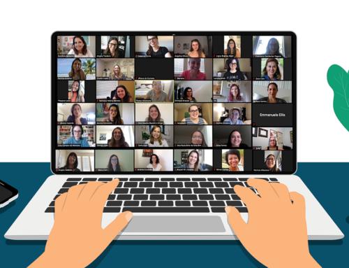 Relato sobre nosso encontro virtual para profissionais